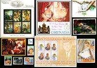 Grenada - Frimærkepakke - Postfrisk
