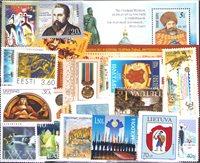 Estonie, Lettonie, Lituanie, Moldavie, Ukraine - Paquet de timbres - Neufs