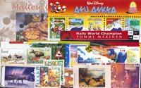 Aland, Finlande, Malte, Norvège - Paquet de timbres - Neufs