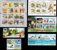 Aurigny, Gibraltar, île de Man - Paquet de timbres  - Neufs