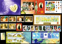 Aurigny, Gibraltar, Guernesey - Paquet de timbres - Neufs