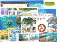 Tonga, Tuvalu, Vanuatu, Wallis et Futuna - Frimærkepakke - Postfrisk