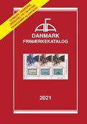 AFA Danmark frimærkekatalog 2021 med spiralryg