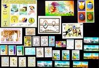 Asien diverse lande - Frimærkepakke - Postfrisk