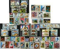 Mongolie - 5 paquets de timbres
