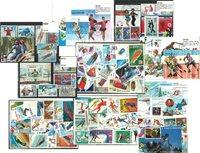 Sport d'hivers - 9 paquets de timbres