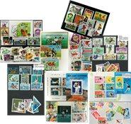 Boldsport - 7 frimærkepakker samlet