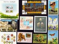Côte d'Ivoire, Tanzanie, Togo, Tunisie - Paquet de  timbres - Neufs