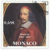 Monaco - Mazarin - Timbre oblitéré