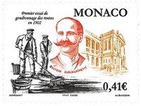 Monaco - Asfaltering - Postfrisk frimærke