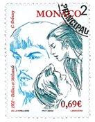 Monaco - Pelleas/Melisande - Timbre oblitéré