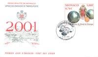 Monaco - Petanque - Førstedagskuvert