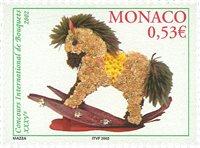 Monaco - Blomsterbinding - Postfrisk frimærke