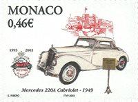Monaco - Mercedes 1949 - Timbre neuf