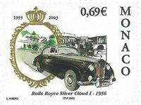 Monaco - Rolls Royce 1956 - Timbre neuf
