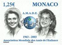 Monaco - AMADE 2003 - Postfrisk frimærke