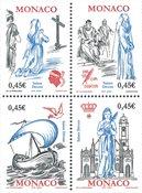 Monaco - St.Dévote - Postfrisk frimærke