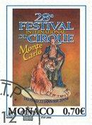 Monaco - 29ème Festival 2003 - Timbre oblitéré