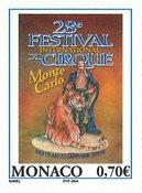 Monaco - 29ème Festival 2003 - Timbre neuf