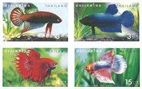 Thaïlande - Poissons - Série neuve 4v