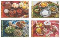 Thaïlande - Plats traditionnels - Série neuve 4v