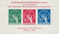 Allemagne/Berlin 1949 - Michel Blok 1 - Neuf