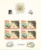 Tchécoslovaquie 1988 - Michel Blok 83 - Neuf