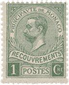 Monaco 1910 - YT T8 - Postfrisk
