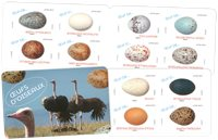 Frankrijk - Birds eggs - Postfris boekje