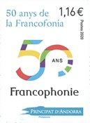 Andorre français - Francophonie - Timbre neuf