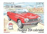 France - La Journée du timbre - Cabriolet - Timbre neuf