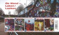 Belgique - Graffitis - Bloc-feuillet neuf