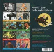 Belgique - Tintin - Feuillet oblitéré