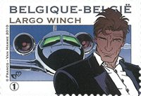 Belgique - Largo Winch 2010 - Timbre neuf