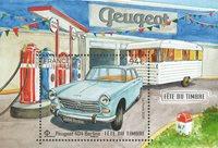 France - La Journée du timbre - Cabriolet - Bloc-feuillet neuf