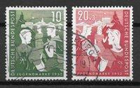 Allemagne  - AFA 1117-18 - Oblitéré