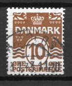 Dinamarca  - AFA 185y - Usado