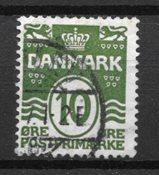 Dinamarca  - AFA 124 Cy - Usado