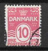 Danemark  - AFA 65v - Oblitéré