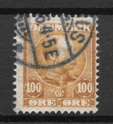 Danmark  - AFA 51a - stemplet