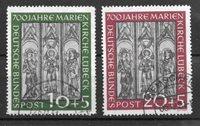 Alemania 1951 - AFA 1102-03 - Usado