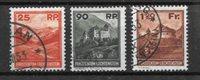 Lichtenstein 1933 - AFA 119-121 - Oblitéré
