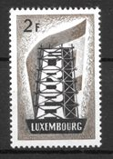Luxembourg 1956 - AFA 551 - ustemplet
