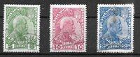 Lichtenstein 1912 - AFA 1-3 - Oblitéré