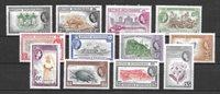 colonias británicas 1953 - Mic. 141-152 - Nuevo con charnela