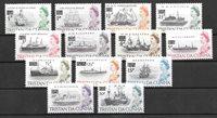 Colonie britanniche 1971 - Mic. 141-52 - Nuova