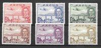Colonie britanniche 1939 - Mic 112-117 - Nuovo linguellato