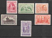 Colonie britanniche 1920 - Mic. 155-160 - Nuovo linguellato