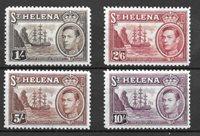 Colonie britanniche 1938 - Mic. 107-110 - Nuovo linguellato