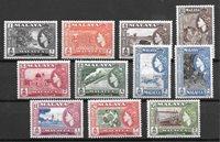 colonias británicas 1957 - Mic.44-55 - Nuevo con charnela